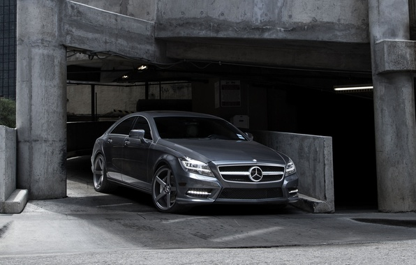 Picture Mercedes-Benz, Auto, CLS, Tuning, Machine, Parking, Check out