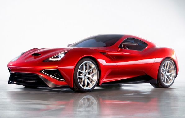 Picture supercar, the front, Icon, Vulcano, Vulcan, Icona