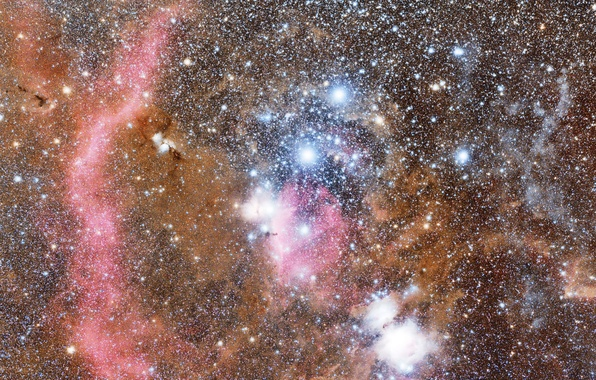 Picture space, space, stars, constellation, Orion, the universe