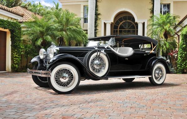 Picture Speedster, 1929, LeBaron, Stutz, Model M, 4-passenger