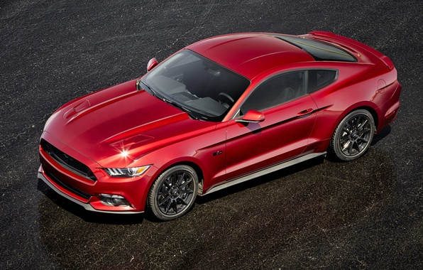 Picture Mustang, Ford, Mustang, Ford, 2015, Black Accent