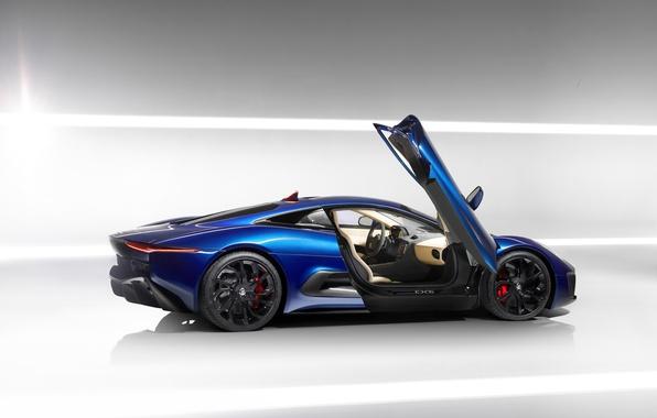 Picture auto, Jaguar, supercar, auto wallpaper, Jaguar C-X75