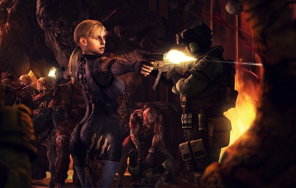 Picture girl, monster, infection, resident evil, jill valentine, Majini, Ndesu