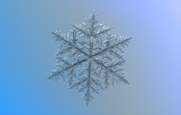 Picture macro, background, pattern, snowflake