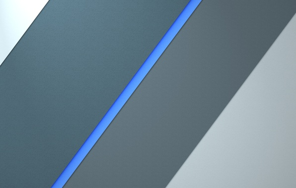 Picture Android, Blue, Design, 5.0, Line, Silver, Lollipop, Abstraction, Material