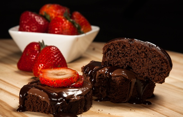 Picture food, chocolate, strawberry, fruit, cream, food, fruit, sweet, chocolate, sweet, strawberry, cream
