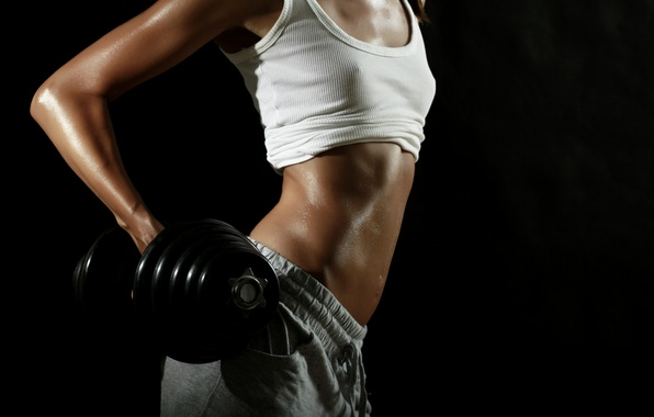 Picture sexy, nipples, abs, weights, transpiration