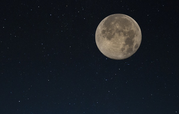 Picture the moon, satellite, Moon, the contours
