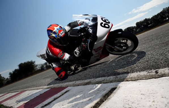Picture speed, pilot, motorbike, extreme sport