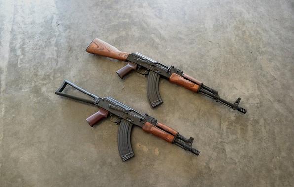 Picture weapons, background, Kalashnikov, machines, AK-74