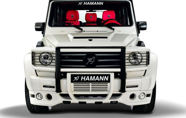 Picture White, Hamann, G55, Tuning