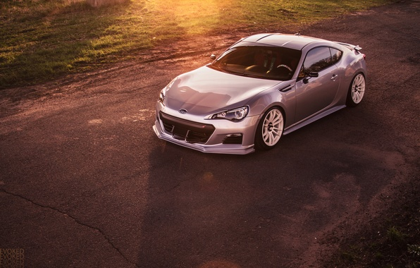 Picture Subaru, silver, Subaru, silvery, BRZ, Evoked Photography