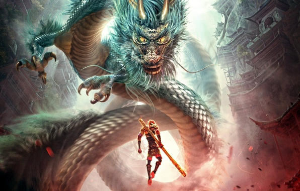 Picture cinema, gun, monkey, fight, movie, dragon, asian, film, warrior, chinese, oriental, asiatic, epic, combat, claws, …