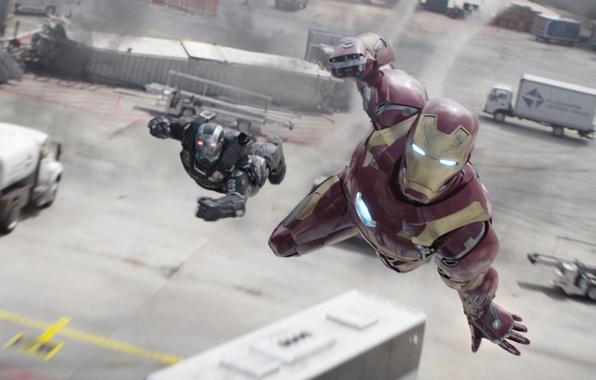 Picture Tony Stark, Don Cheadle, Iron-Man, Captain America:Civil War, Rober Downe Jr, warrior