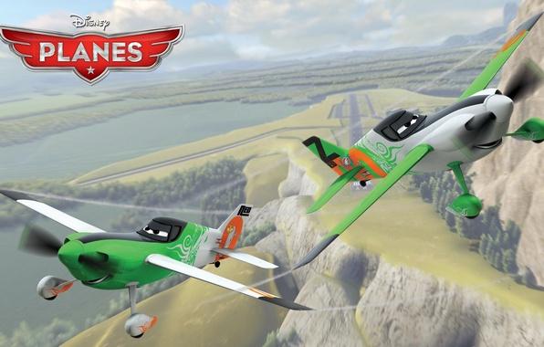 Picture cartoon, wings, adventure, rally, wings, Walt Disney, animation, action, Walt Disney, adventure, air race, air …
