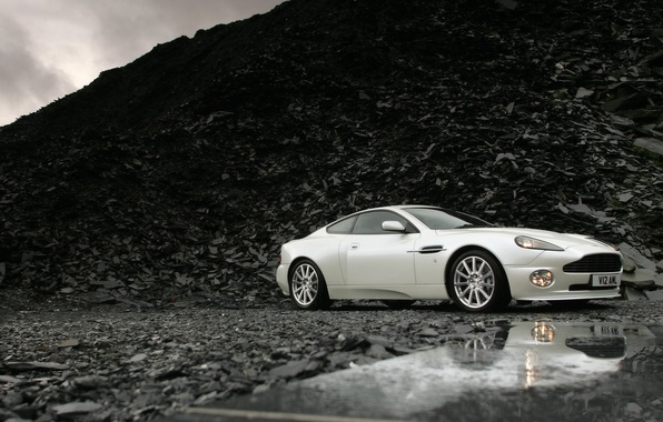 Picture background, Aston Martin, V12, Vanquish S