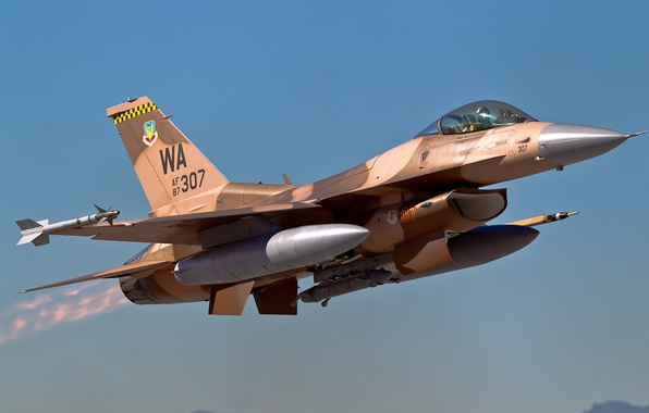Picture fighter, the rise, Fighting Falcon, F-16C