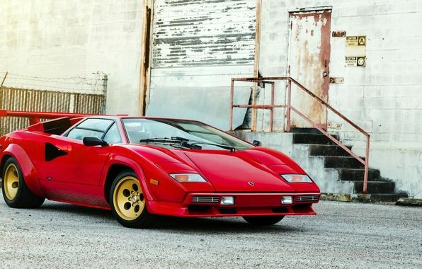 Picture Lamborghini, Lamborghini, Countach, Bertone, 1982, LP5000 S