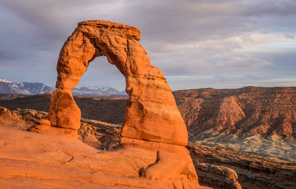 Picture desert, national Park, Jeff Wallace, Delicate Arch, Arch