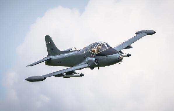 Picture attack, jet, Mk82a, Strikemaster
