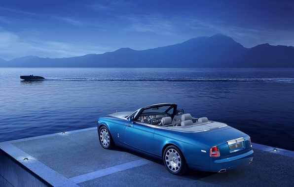 Picture car, boat, Rolls-Royce Phantom, Coupe, Drophead, Waterspeed Collection