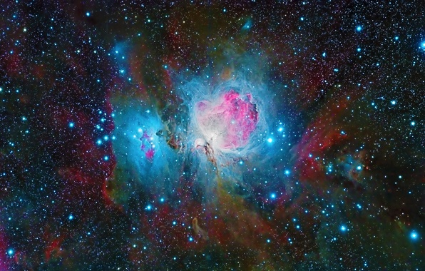 Picture space, stars, beauty, The Orion Nebula