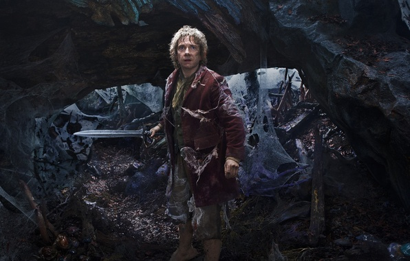 Picture web, sword, fantasy, Martin Freeman, Martin Freeman, The Hobbit: An Unexpected Journey, The hobbit: an ...