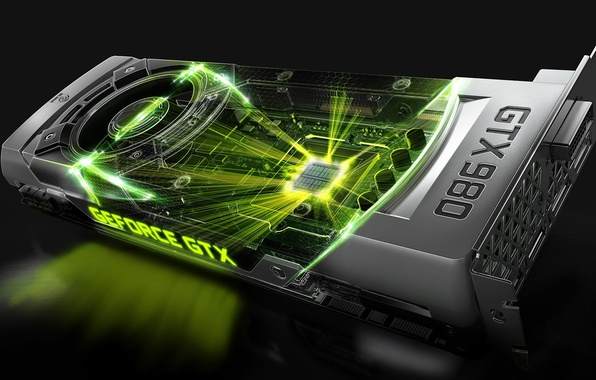 Picture GTX, Nvidia, GeForce, video card, 980