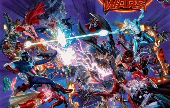 Picture captain america, spider man, iron man, avengers
