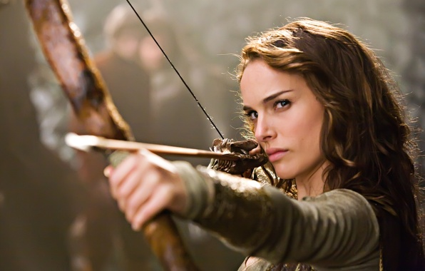 Picture the film, actress, bow, Natalie Portman, Isabel Your Highness, brave pepper