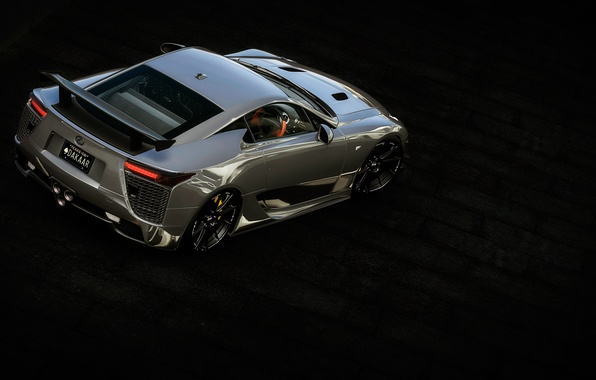 Picture view, Lexus, top, lfa