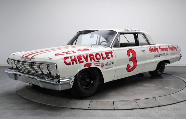 Picture Chevrolet, coloring, Impala, racing.