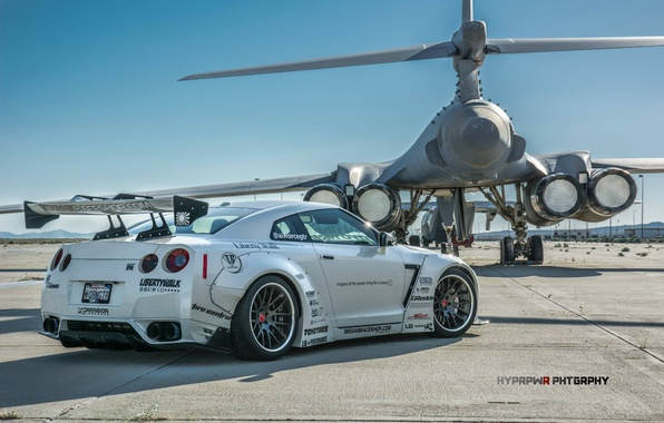 Wallpaper tuning, Lancer, Nissan, GT-R, bomber, and, B-1B ...