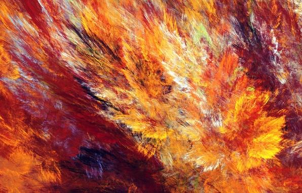 Picture line, pattern, paint, fractal