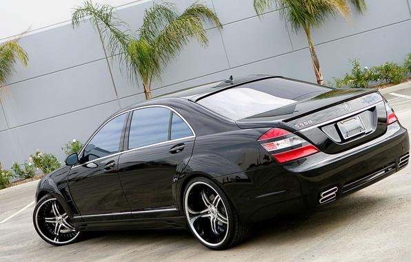 Picture asphalt, Mercedes, drives, chrome, gelding, S550, pasas, Nintendo, 550, ASANTI, weels