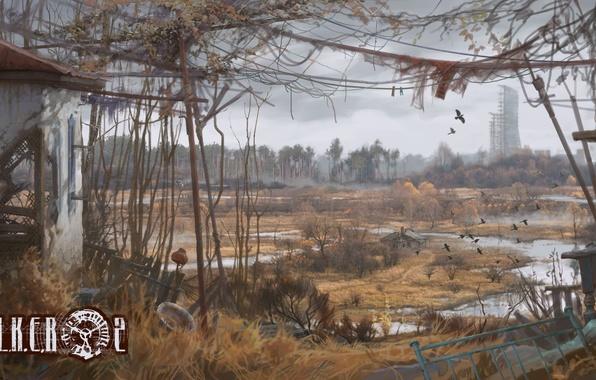 Picture Chernobyl, Pripyat, area, Ukraine, Stalker 2, Stalker 2, pustosh