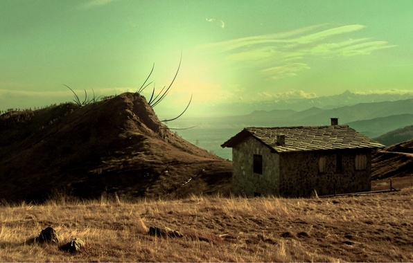 Picture the sky, loneliness, mood, Villa
