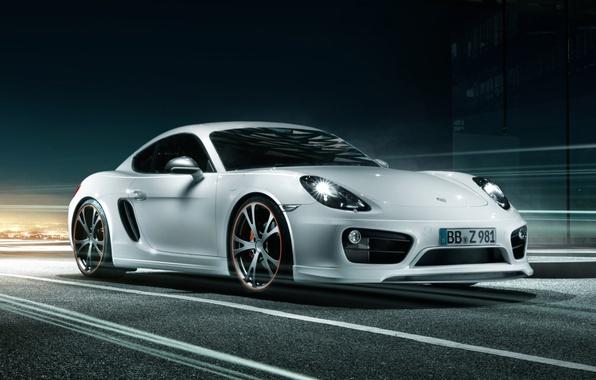 Picture tuning, Porsche, Cayman, Porsche, tuning, the front, TechArt, Caiman