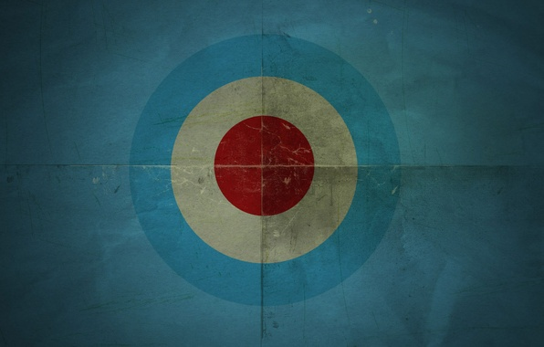 Picture circles, blue, background, texture, target