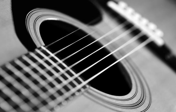 Picture macro, guitar, strings, music, blur, guitar, tool, Grif, music, bokeh, musical, six-string, wallpaper., instrument, classic, …