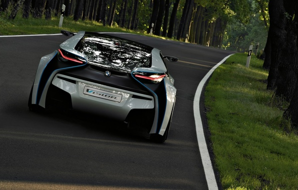 Picture road, nature, speed, Auto, Others BMW prototype