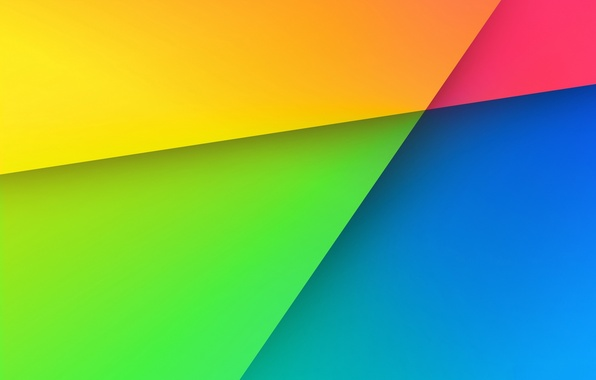 Picture line, color, rainbow, angle, geometry