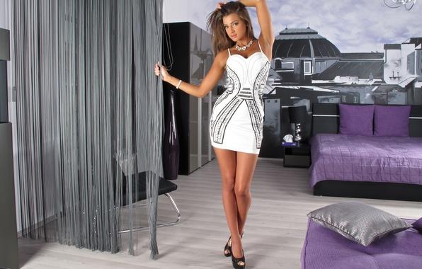 Wallpaper Look Model Hair Dress Maria Ryabushkina