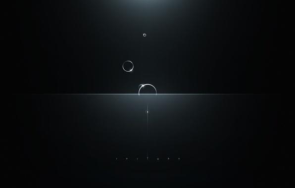 Picture light, circles, glare, Insight