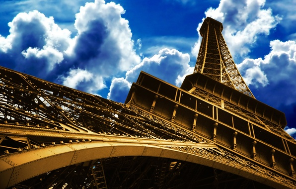 Picture the sky, France, Paris, tower