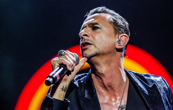 Wallpaper Microphone Depeche Mode David Gahan Delta Machine Welcome To My World Images For Desktop Section мужчины Download