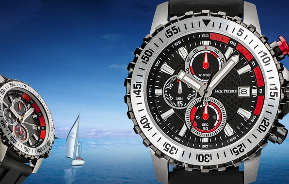 Picture water, watch, Jack Pierre, Sailboat