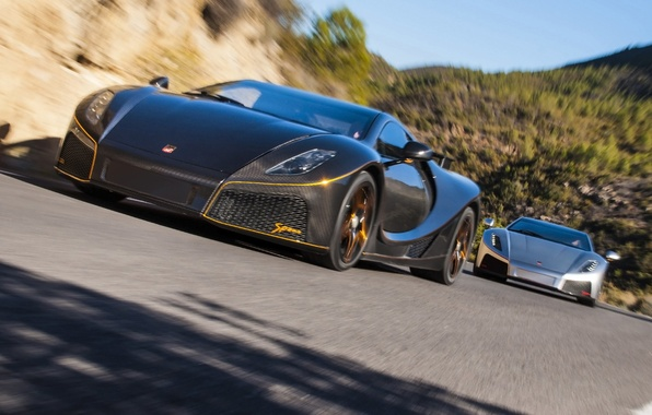 Picture pair, carbon, supercars, 2014, Spania, GTA Spano