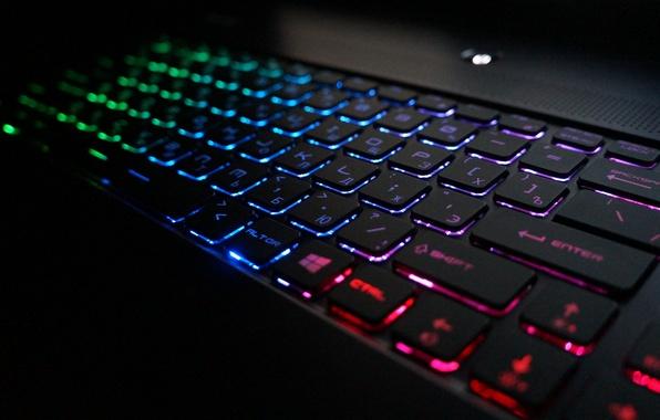 Wallpaper msi backlight keyboard notebook colors for Sfondi razer