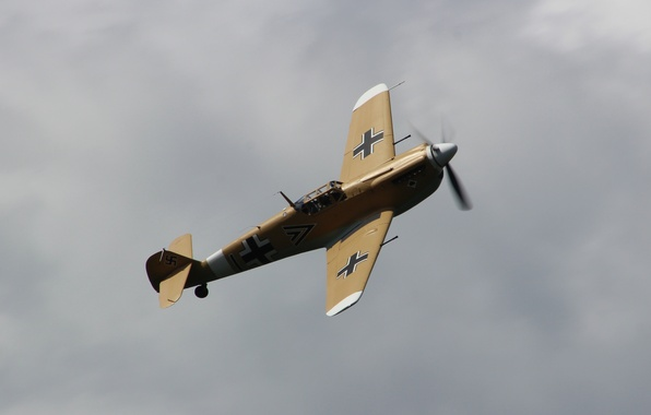 Picture fighter, Messerschmitt, single-engine, Bf.109G